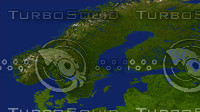 sweden maps 3d max