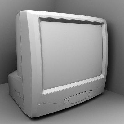 television 3d model