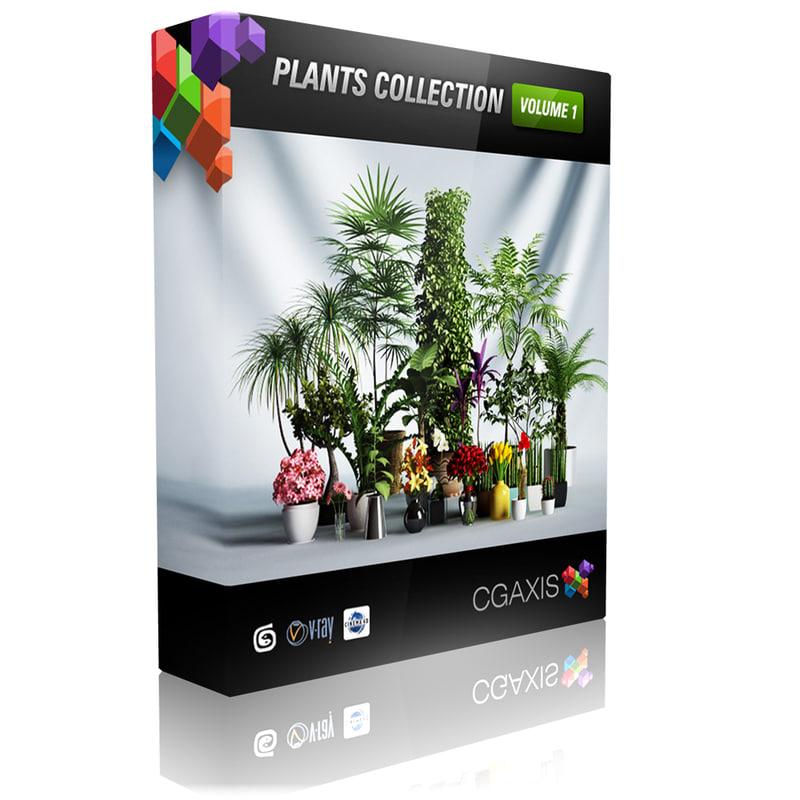 plants volume 1 3d model