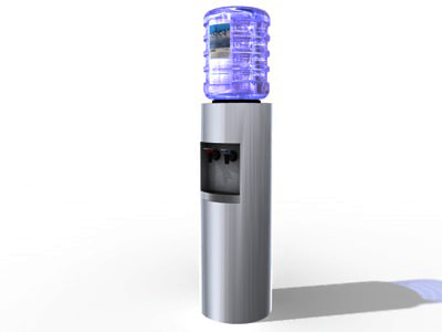 water dispenser 3d model