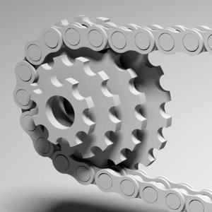 chain sprocket 3ds