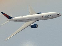 Boeing 777-200 ER Delta (new colors)