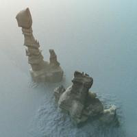 Alien Terrain Rocks