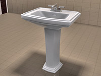 TOTO Clayton Sink and American Standard Faucet Set