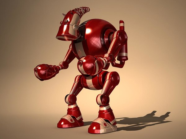 hunchback robot 3d model