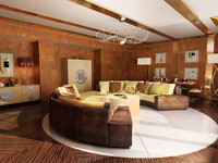 max luxury living room