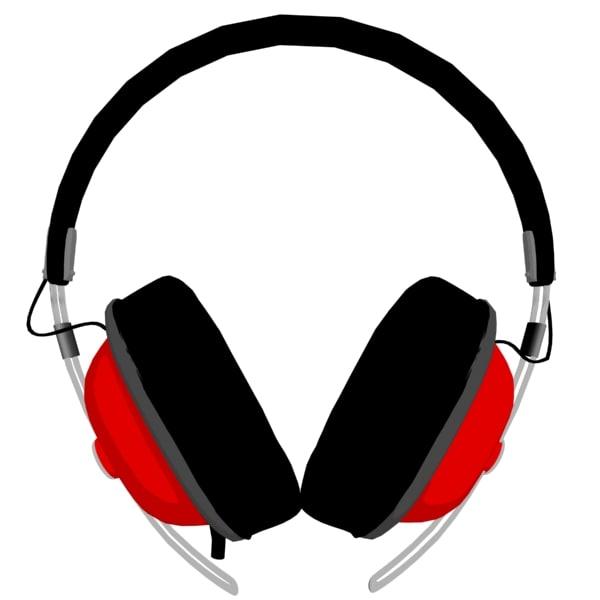 free 3ds model panasonic rp-htx7 headphones