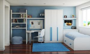 3ds childrens bedroom