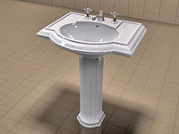 Kohler Devonshire Sink and Waterworks Faucet Set