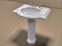 Kohler Devonshire Sink and Waterworks Faucet Set