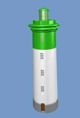 3d model light house