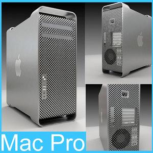 mac pro workstation computer 3d model