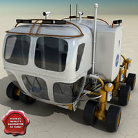 new nasa lunar rover c4d