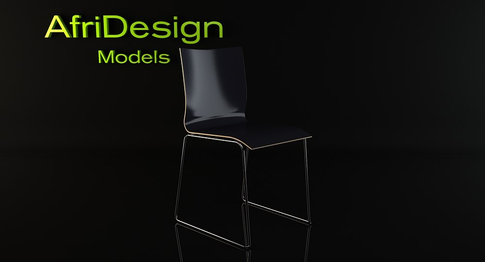 chairik chair 3d model