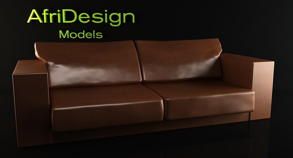 3ds baxter sofa