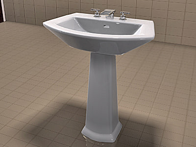 Attrayant TOTO Soiree Sink And Kohler Alterna Faucet Set