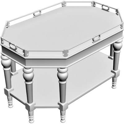 3d obj server table