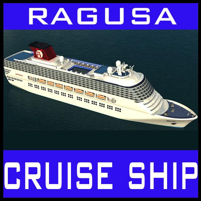 zenith cruiser ship 3d model
