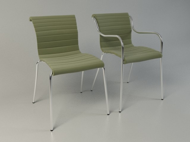 zelig pi chair 3d 3ds