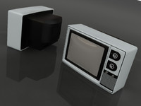 3d old television
