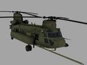 CH-47E SOA Chinook Game Ready Model