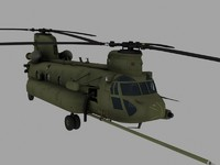 CH-47E SOA Game Ready Model