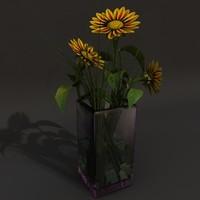 maya flower vase