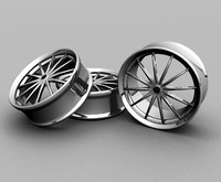 12 spokes custom rims max