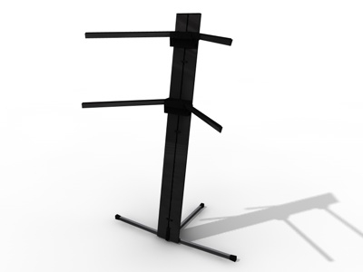 3d keyboard stand