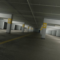 Garage Parking Underground + CAR