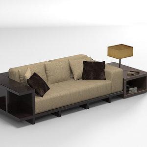 misuraemme modern sofa 3ds