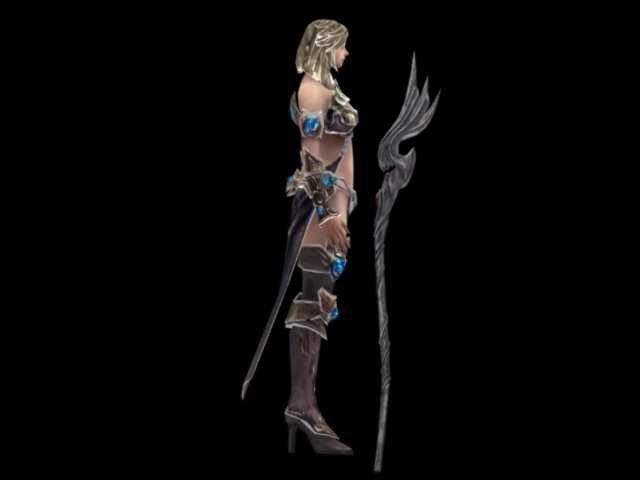 warriors 3d model