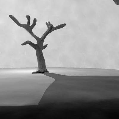 3d tree salix model