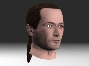 nextgen head character 3d model