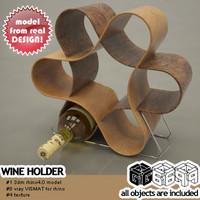 wine holder 3d model