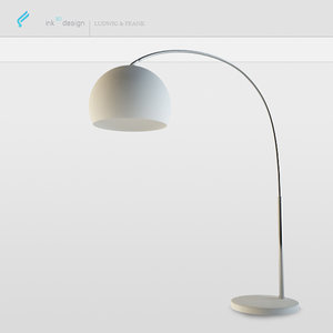 bow lamp 3d 3ds