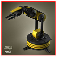 robotic arm 3d model