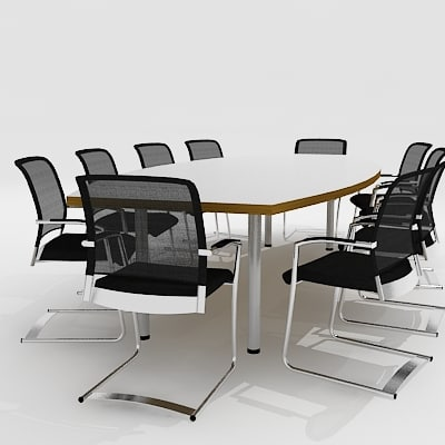 maya meeting furniture chairs