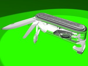 multi function knife multi-function 3d max