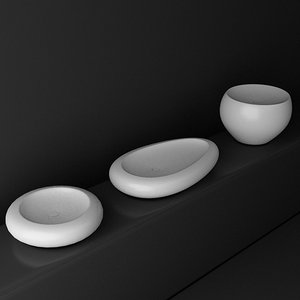 duravit ciotolo washbasin 3ds