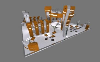 3ds exhibition trade modular
