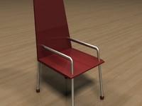 maya chair w3d