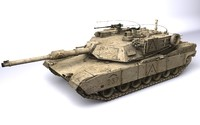 abrams m1a2 3d model