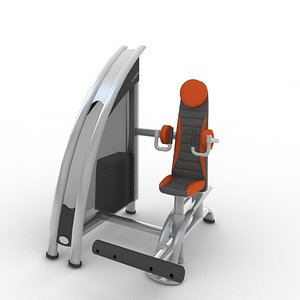 independent lateral raise a919 3d model