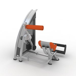 fitness exercise 3d model