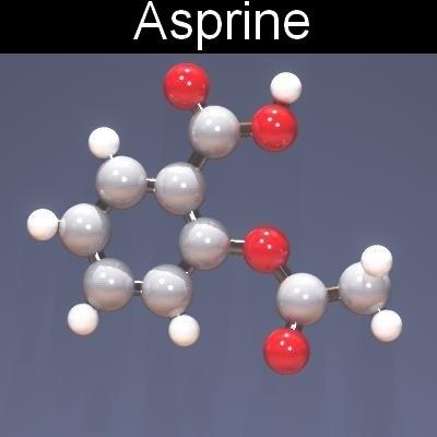 molecule medication 3d max