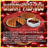 Cherry pies.obj