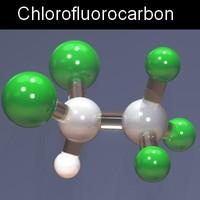3ds max molecule structure
