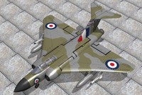 3d gloster javelin jet fighter
