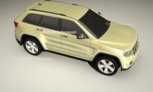 3ds max 4x4 terrain vehicle